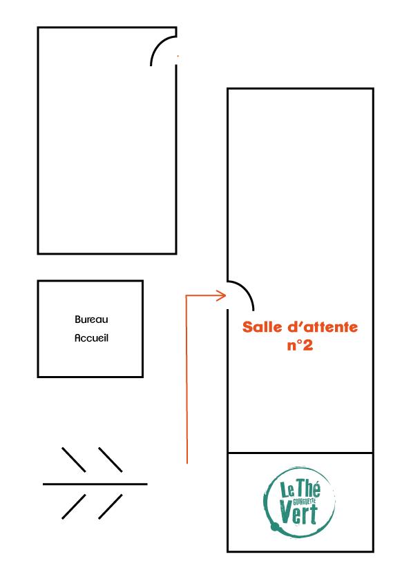 Salle d'attente 2 Centre La Mane à Balma