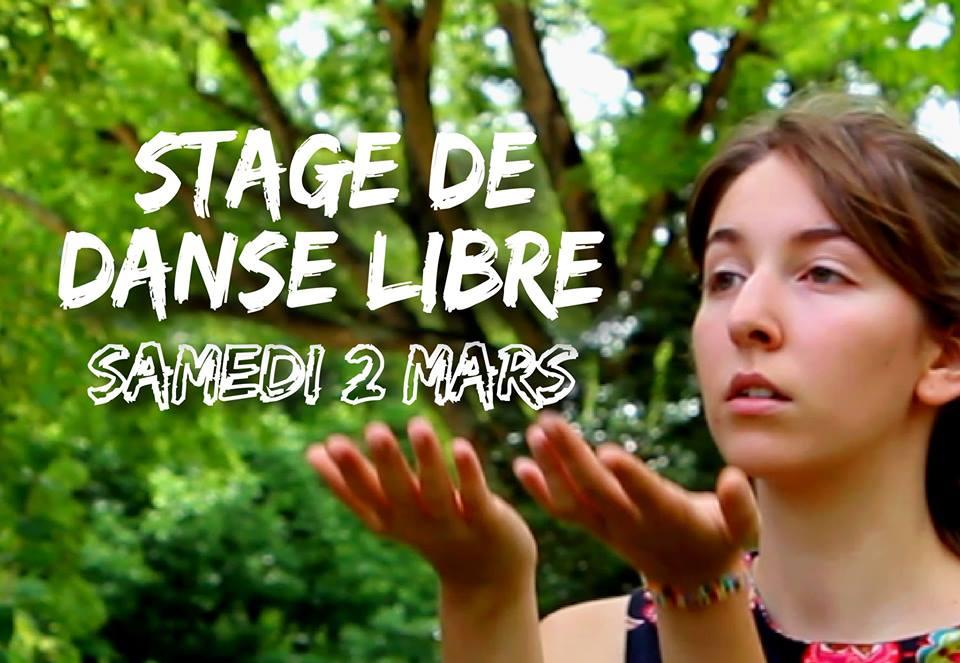 Stage de Danse Libre à La Mane Balma