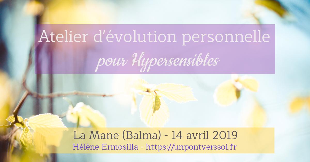 Atelier pour hypersensibles à Balma Avril
