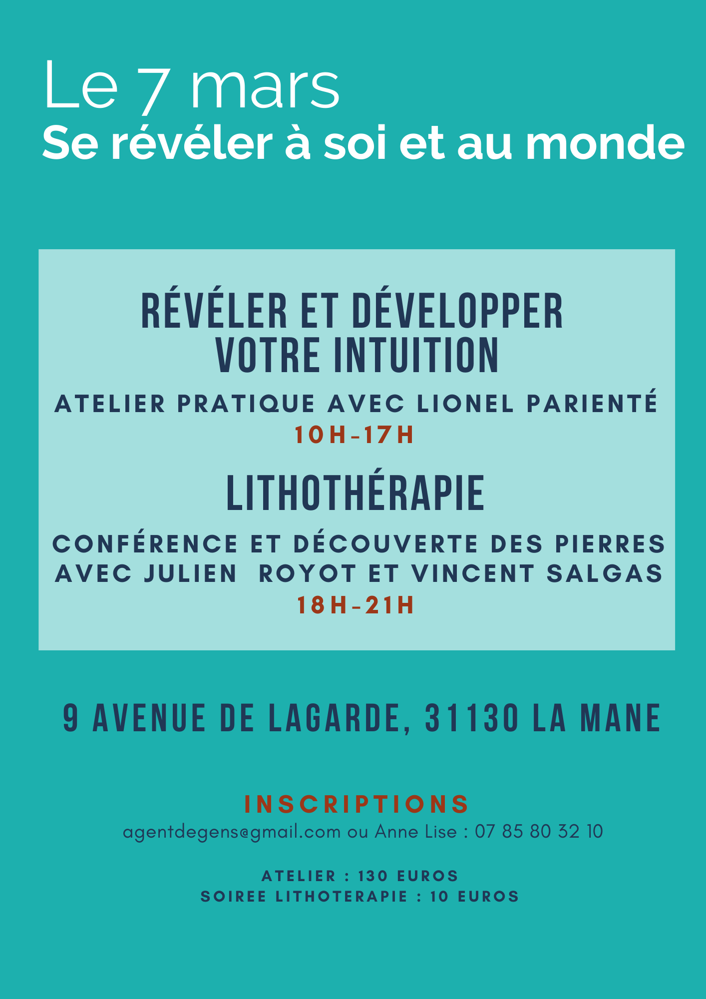 Atelier Lionel Parienté Lithothérapie Toulouse