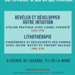Révéler et développer son intuition atelier balma Lionel Parienté