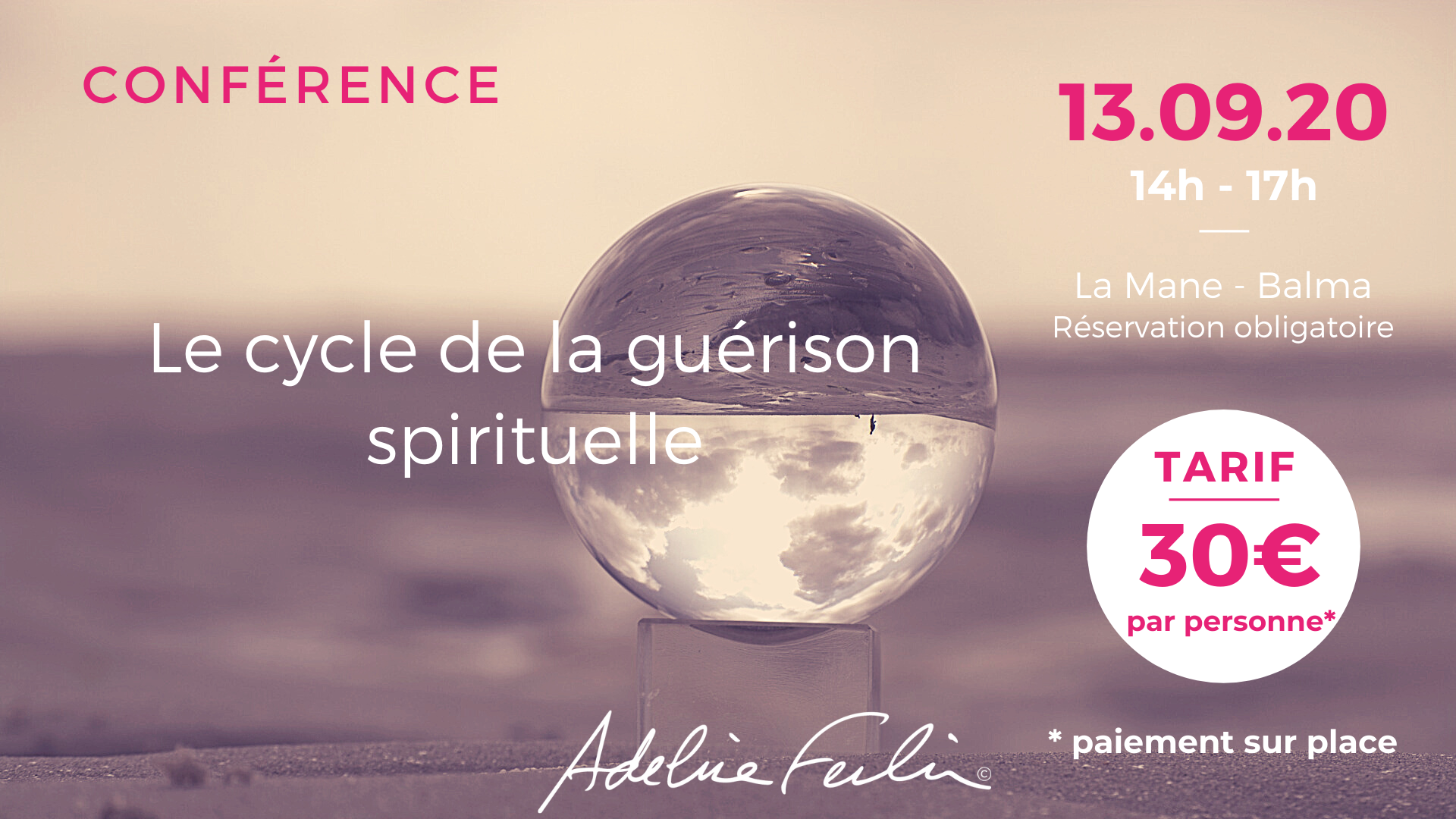 Conférence Adeline Ferlin Balma