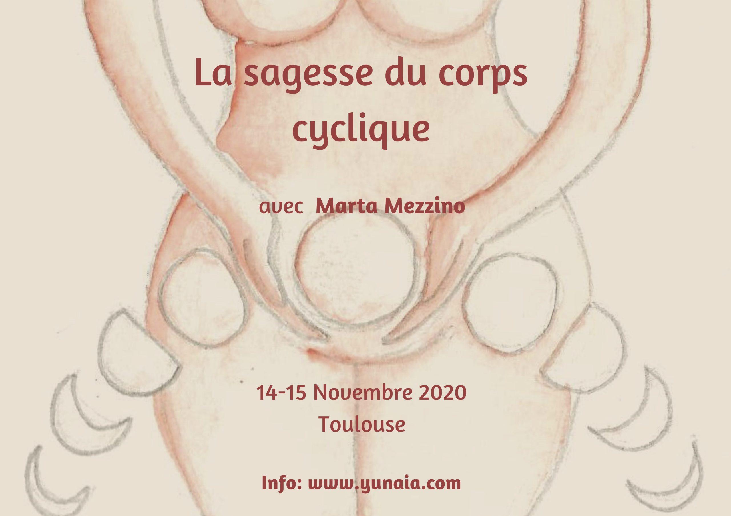 La sagesse du corps cyclique Stage Avec Marta Mezzino